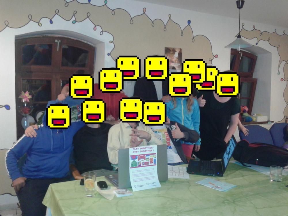Gamejam 2016 in der Zora in Halberstadt